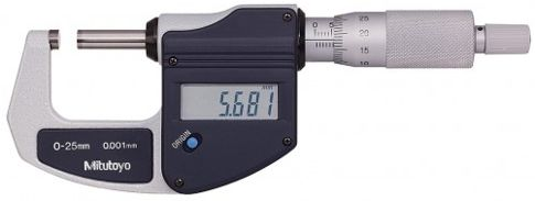 Mitutoyo 293-831 Digimatic Micrometer 25.4mm