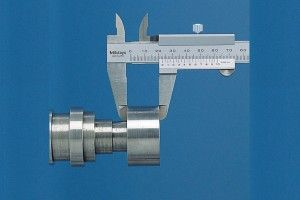 Mitutoyo 530-104 Dial Caliper; Range-0-150mm Resolution-0.05mm-6