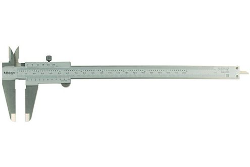 Mitutoyo 530-114 Dial Caliper; Range-0-200mm Resolution-0.05mm-1