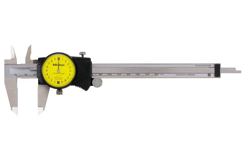 Mitutoyo 505-671 Dial Caliper Range 150mm Resolution 0.02mm-1