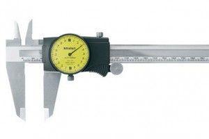 Mitutoyo 505-673 Dial Caliper Range 30mm Resolution 0.02mm-2