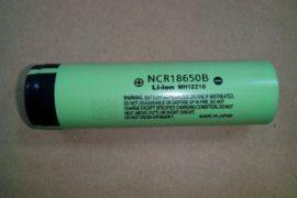 NCR18650B-Li-ion