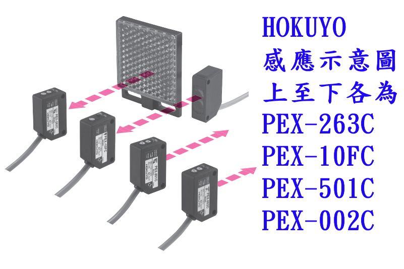 Hokuyo PEX-263C-3