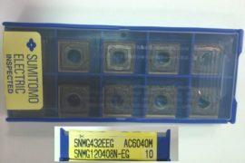 SUMITOMO SNMG120408NEG AC6040M