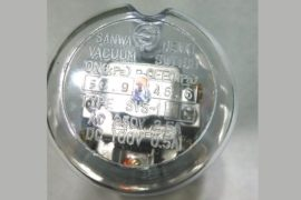 SANWA SVS-1 ON59.9KPa OFF46.6