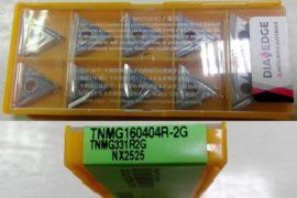 Mitsubishi TNMG160404R-2G TNMG331R2G NX2525