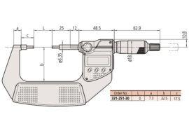 Mitutoyo 331-251-30-3