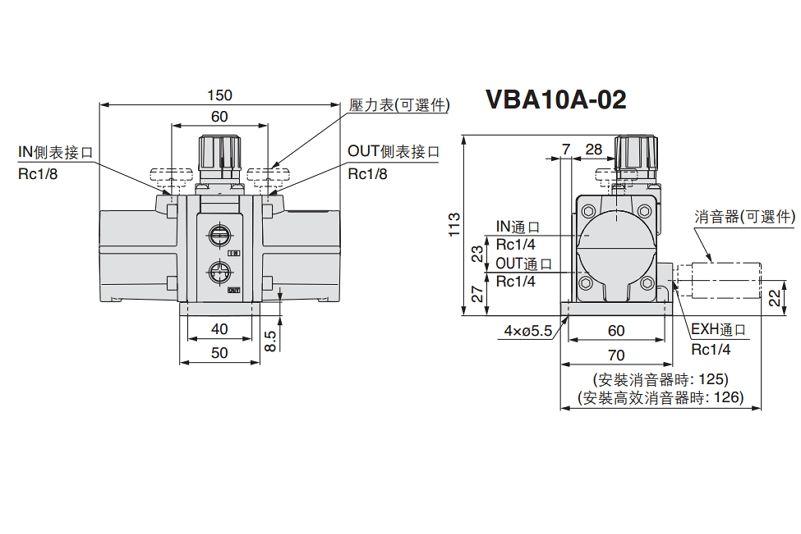 SMC VBA10A-02GN-3