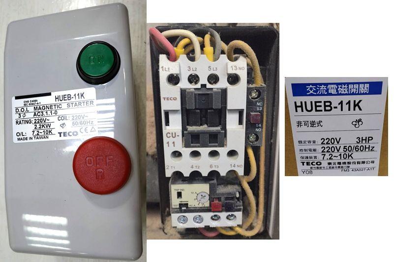 TECO HUEB-11K